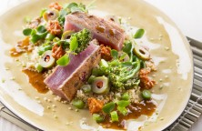 Grilled Tuna with Couscous
