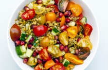 Freekeh and Mixed-Tomato Salad