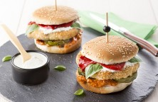 Quinoa Fish Burger