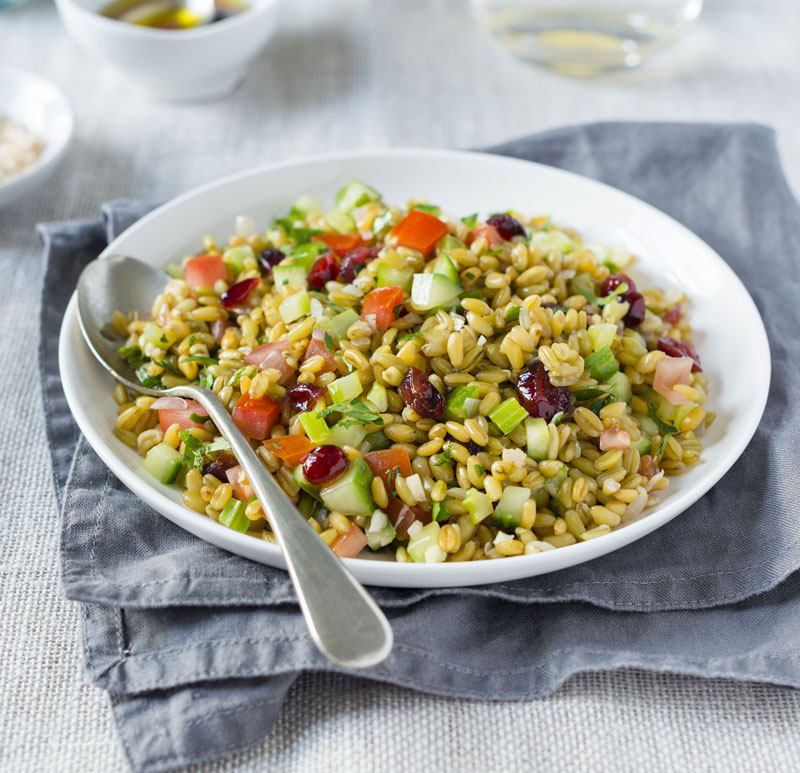 artisan grains wholegrain freekeh salad